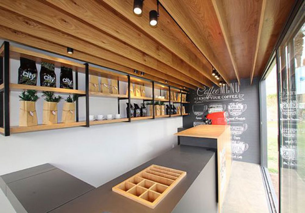 Modüler Cafe Ve Kiokslar